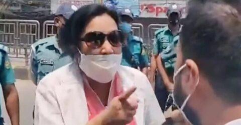 পরিচয়পত্র দেখতে চাওয়ায় পুলিশকে 'হারামজাদা' বললেন নারী চিকিৎসক