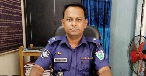 সুনামগঞ্জে হামলা : শাল্লা থানার ওসি সাসপেন্ড