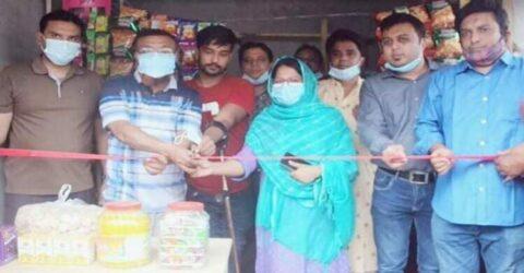নিসচা'র সহযোগিতায় পাকা মুদি'র দোকান পেলেন প্রতিবন্ধী শাকিল